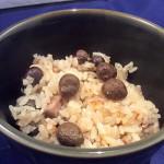 冬料理_鶏肉とむかごの釜飯